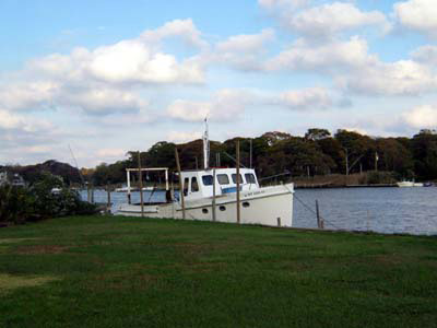 Photo: Moriches fishing boat
