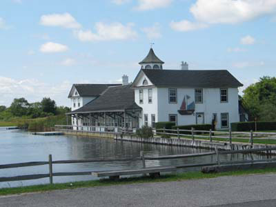 Photo: St. John's boathouse, Oakdale