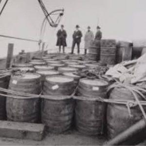 Photo: Seized Liquor During Prohibition