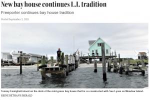 LI Herald article on bay houses